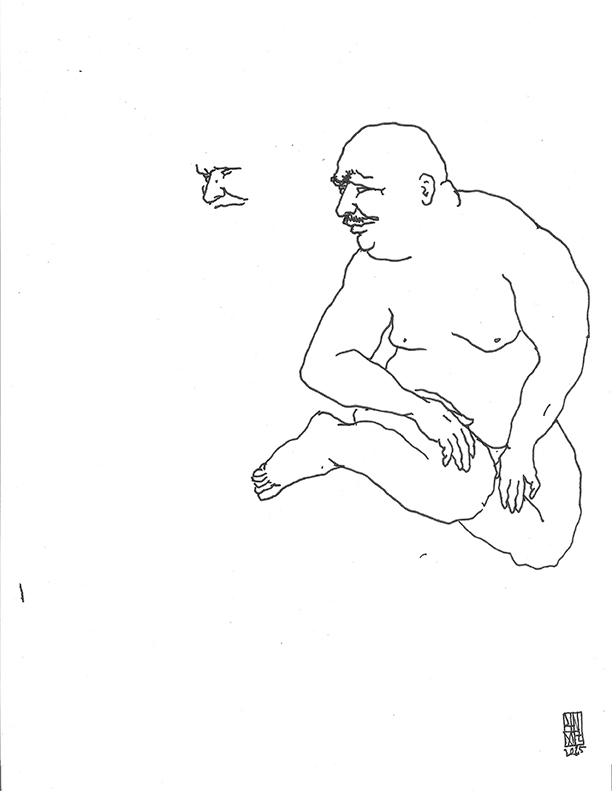 UNGA Sketch-Fat Man Scan