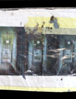 Borondo's FEARLESS Sketch (Front) for PUBLIC Festival