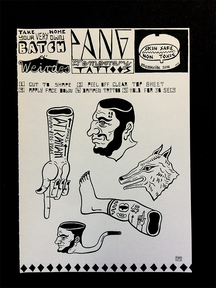 Pang Sketch-Mamasita Tattoo Sheet