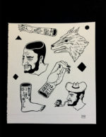Pang Sketch-Mamasita Tattoo Sheet 2nd Runner